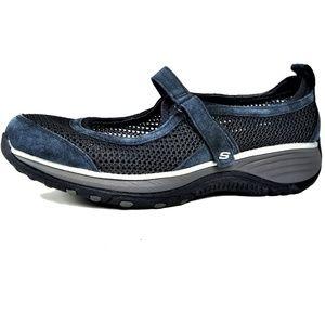 Skechers Relaxed Fit Memory Foam--Gel Infused Blue